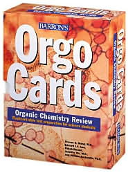Orgocards: Organic Chemistry Review, 160 Cards