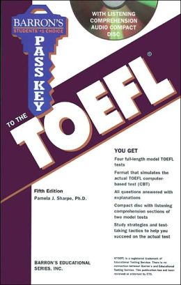Pass Key to the TOEFL with Audio CD