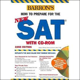 How to Prepare for the NEW SAT with CD-ROM