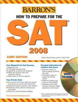 How to Prepare for the SAT with CD-ROM