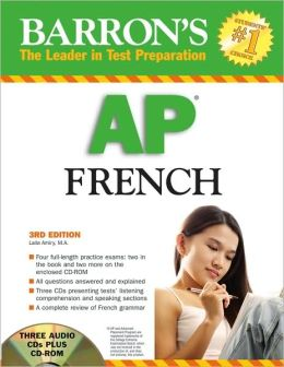 Barron's AP French with Audio CDs and CD-ROM