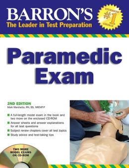 Barron's Paramedic Exam with CD-ROM
