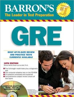 Barrons GRE with CD-ROM