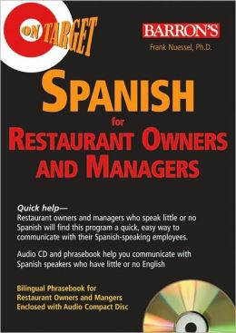 On Target: Spanish for Restaurant Owners and Managers
