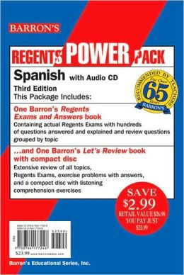 Spanish Power Pack with Audio CD