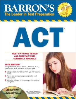Barron's ACT with CD-ROM
