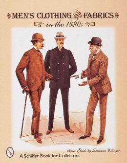 Men's Clothing and Fabrics in the 1890s: Price Guide