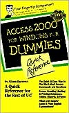 Access 2000 for Windows For Dummies: Quick Reference