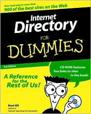 Internet Directory for Dummies with Cdrom