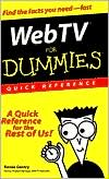 Web TV for Dummies Quick Reference
