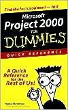 MS Project 2000 for Dummies Quick Reference