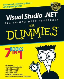 Visual Studio.Net All-In-One Desk Reference for Dummies