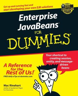 Enterprise JavaBeans for Dummies