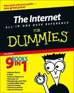 The Internet All In One Desk Reference For Dummies