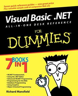 Visual Basic.NET All-In-One Desk Reference For Dummies