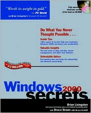 Microsoft Window 2000 Server Secrets (with CD-ROM)