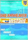 Dreamweaver 4 In an Instant