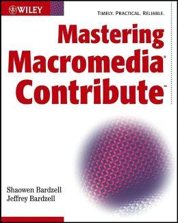 Mastering Macromedia Contribute