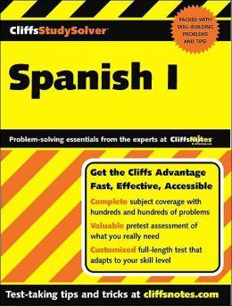 Cliffs Study Solver: Spanish I
