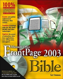 FrontPage 2003 Bible