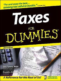 Taxes For Dummies 2004 (Dummies Series)