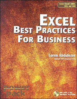 Excel, Best Practices for Business: Covers Excel 2003, 2002, and 2000