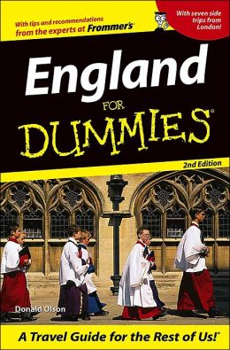 England For Dummies (For Dummies Series)