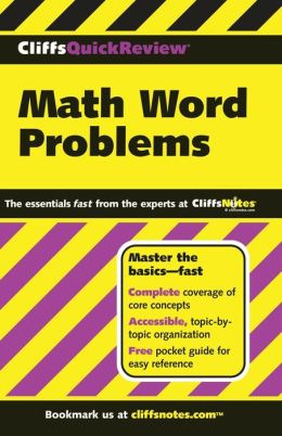 CliffsQuickReview Math Word Problems