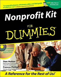 Nonprofit Kit for Dummies with CD-ROM