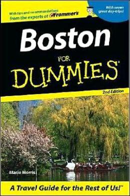 Boston For Dummies 2E