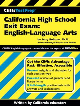 CliffsTestPrep California High School Exit Exam-English Language Arts