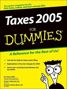 Taxes 2005 for Dummies