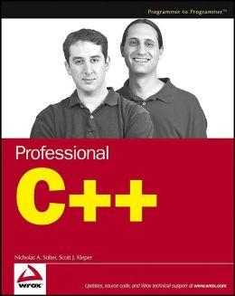 Professional C++ Programming
