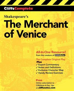 CliffsComplete Merchant of Venice
