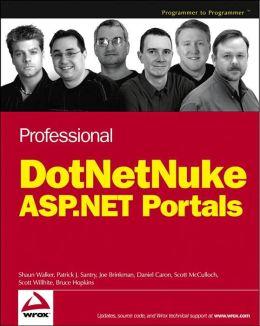 Professional DotNetNuke ASP.NET Portals
