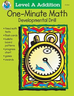 One Minute Math Drills: Addition, Sums 0-10 Grades 1-2