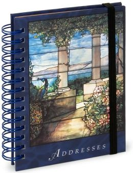 Address Book Tiffany Pocket Spiral 3.5 X 5