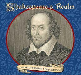 2004 Shakespeare's Realm Wall Calendar