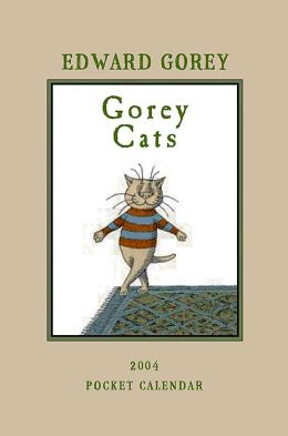 2004 Gorey Cats Pocket Planner