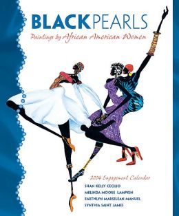 2004 Black Pearls Weekly Engagement Calendar