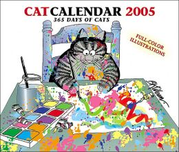 2005 Kliban Cat Box Calendar