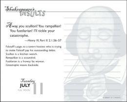 2006 Shakespeare¿s Insults Box Calendar