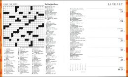 2006 New York Times Sunday Crossword Puzzles Engagement Calendar