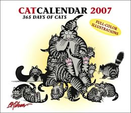 2007 CatCalendar: 365 Days of Cats B. Kliban Box Calendar