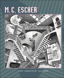 2007 M. C. Escher Engagement Calendar