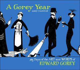 2007 365 Days of the Art & Words of Edward Gorey Box Calendar