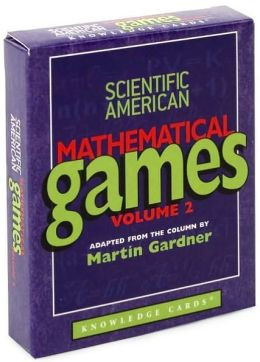 Scientific American Mathematical Games Knowledge Cards Volume 2