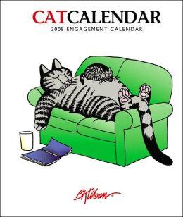 2008 CatCalendar: B.Kliban Engagement Calendar