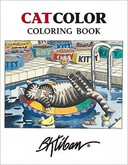 B. Kliban Catcolor Coloring Book
