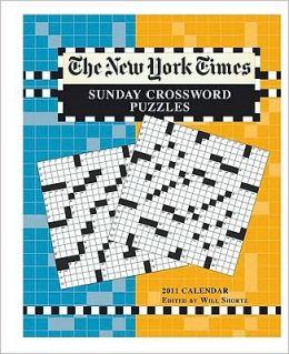 2011 New York Times Crossword Puzzles Engagement Calendar